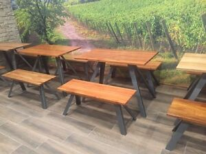 Custom made cafe table tops/counters/benches/furnishings Chipping Norton Liverpool Area Preview