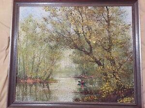 Framed oil painting Cheltenham Kingston Area Preview