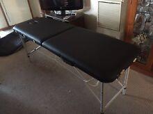 Black portable massage table Tarneit Wyndham Area Preview