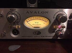 Avalon V5 - Class A Mic Preamp, DI, Reamper Abbotsford Yarra Area Preview
