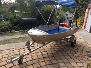 Quintrex tinny with outboard Southport Gold Coast City Preview