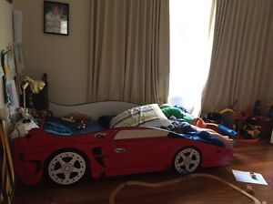 Car bed mattress and matching car sheeting and doona Camp Hill Brisbane South East Preview