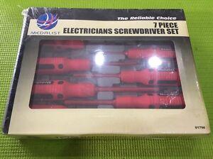 MEDALIST Electricians Screwdriver 7pc Set (SEALED) Brunswick East Moreland Area Preview