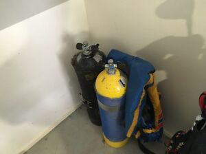 Scuba tanks. Not currently certified. Surfers Paradise Gold Coast City Preview