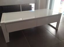 OZ DESIGN 'Milan' White Coffee Table AND Side Table Milperra Bankstown Area Preview