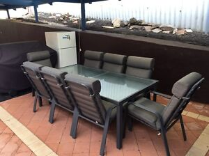 Outdoor furniture setting. 9 pieces Scarborough Stirling Area Preview