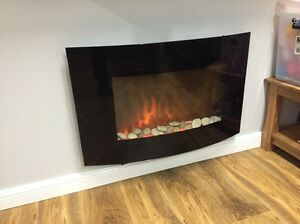 Electric Fireplace heater Arlec Mount Lewis Bankstown Area Preview