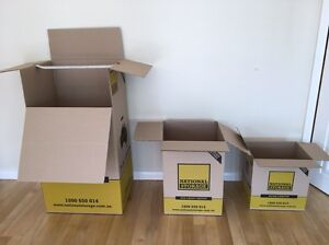 Moving boxes - used once, excellent condition Claremont Nedlands Area Preview
