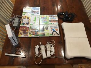 Wii console with 10 games 2 nunchuck controllers Wii step Salisbury North Salisbury Area Preview