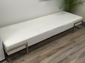 Modern leather chaise sofa North Sydney North Sydney Area Preview