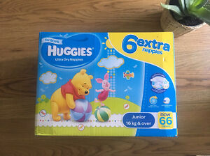 Huggies boys junior nappies Wattle Grove Liverpool Area Preview