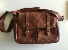 ONA the brixton camera & laptop leather messenger bag Rhodes Canada Bay Area Preview