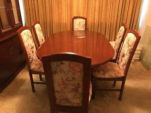 Dining Table and Chairs Campbelltown Campbelltown Area Preview