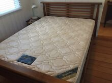 Queen - Solid timber bed and Sleepmaker mattress Paddington Brisbane North West Preview