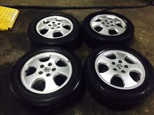 15 inch Holden Astra rims&%80 tread on tyres Dandenong Greater Dandenong Preview