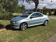 Peugeot 206cc convertible Westminster Stirling Area Preview