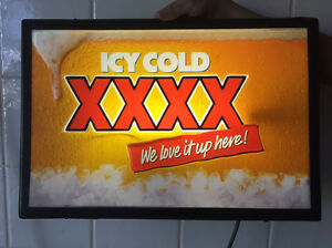 XXXX Illiminated sign South Toowoomba Toowoomba City Preview