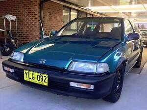 1991 Tahitian Green Honda Civic ED B18C Hornsby Hornsby Area Preview