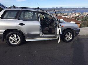 Hyundai Santa Fe 2002 West Hobart Hobart City Preview