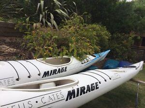 Sea Kayak Double Mirage. X 2 Penguin Central Coast Preview