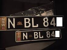 NSW Euro License Plates South Melbourne Port Phillip Preview
