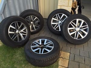 Toyota Hilux 4x4 wheels and tyres. Baldivis Rockingham Area Preview