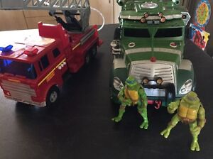 Turtle Ninja Truck and Fire Engine Truck Riverton Canning Area Preview