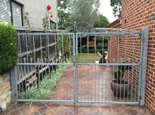 Galvanised Metal Gates Kellyville The Hills District Preview