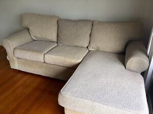 3 seater & 2 seater lounge with adjustable chaise Warners Bay Lake Macquarie Area Preview
