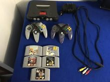 NINTENDO 64 +CONTROLLERS +GAMES Monto North Burnett Area Preview
