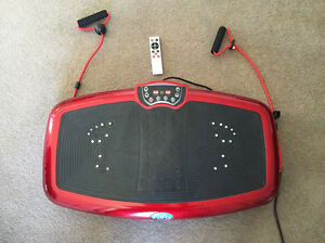 Vibration Machine Platform 350W Bio-Magnetic Metallic Red Rhodes Canada Bay Area Preview