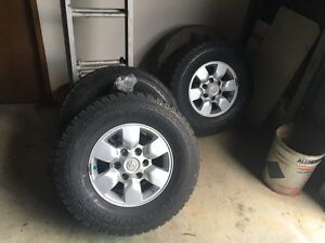 2010 sr5 Hilux rims and tyres Cardiff Lake Macquarie Area Preview