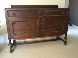 Antique buffet sideboard Engadine Sutherland Area Preview