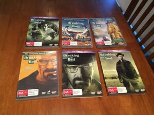 Breaking Bad DVDs - all seasons 1 to 6 Travancore Moonee Valley Preview