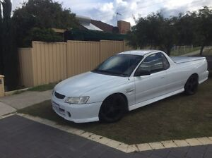 White vy ute Scarborough Stirling Area Preview