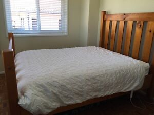 Bed frame - Queen size - Wood Maroubra Eastern Suburbs Preview