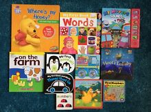 11x Board books (including one BNIP) Braddon North Canberra Preview