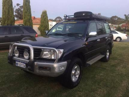 98 Toyota Land Cruiser GXL 100 Series DUAL FUEL AUTO 7-SEATER 4x4