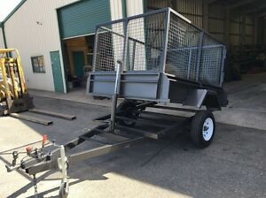 7x5 tipper trailer with cage Smithfield Playford Area Preview
