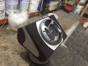 Pioneer 10' subwoofer with soundstorm f850m amp East Lindfield Ku-ring-gai Area Preview