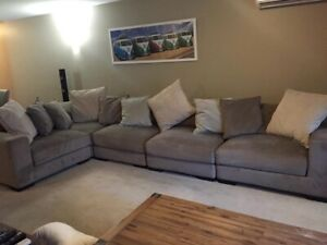Large Comfy Couch. In good condition. Must go this weekend!