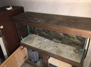 4 foot aquarium fish tank and cabinet Lobethal Adelaide Hills Preview