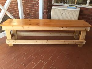 Wooden bench seat Bassendean Bassendean Area Preview