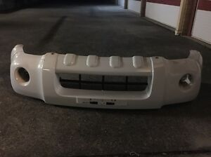 Nissan Navara ute front bar white in colour  wrecking Moorooka Brisbane South West Preview