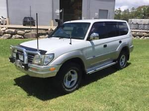 2000 Toyota LandCruiser Prado VX 8 Seater Wagon $9750 Eagle Farm Brisbane North East Preview