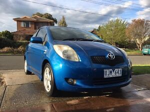 Toyota Yaris NPC91R YRX 2006 Diggers Rest Melton Area Preview