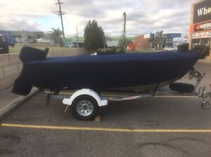 Stacer dinghy with tralior Wangara Wanneroo Area Preview