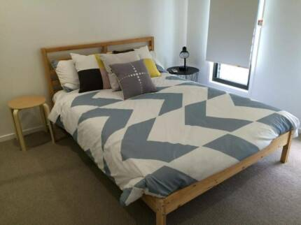 2 x double beds with mattresses