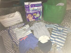 Babylove infant and newborn nappy baby boy bundle 000-00 Seaton Charles Sturt Area Preview