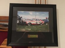 Peter Brock framed collectors photograph Dapto Wollongong Area Preview